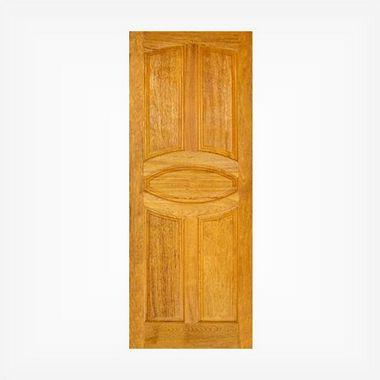 Porta de Madeira Maciça em Angelim Pedra - ref056