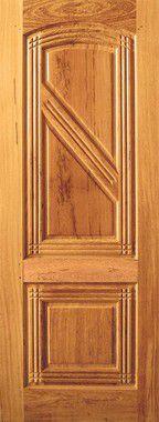Porta de Madeira Maciça em Angelim Pedra - ref059