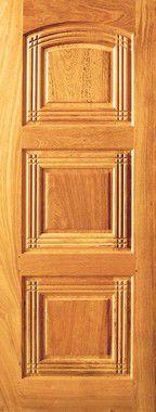 Porta de Madeira Maciça em Angelim Pedra - ref143