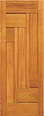 Porta de Madeira Maciça em Angelim Pedra - ref149