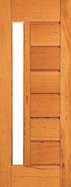 Porta de Madeira Maciça em Angelim Pedra - ref153