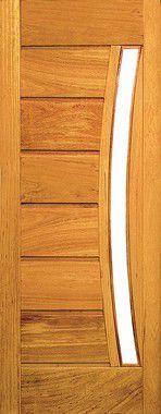 Porta de Madeira Maciça em Angelim Pedra - ref161