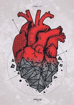 Poster Coração de Pedra