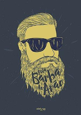 Poster Pela Barba de Arão