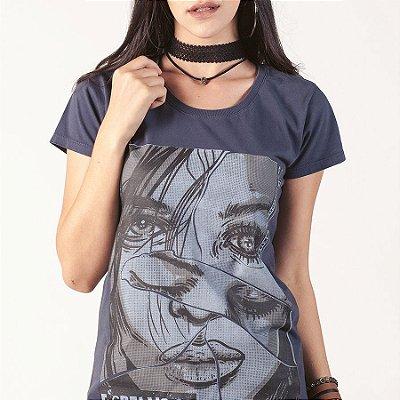 Camiseta fem Oficina G3 Espelhos Mágicos
