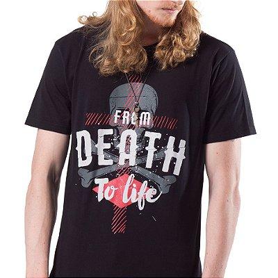 Camiseta Longline Masc. Da Morte para Vida