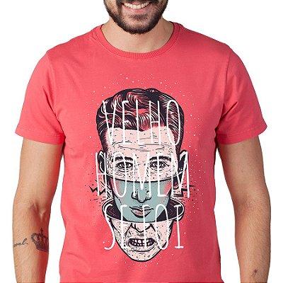 Camiseta masc Velho Homem