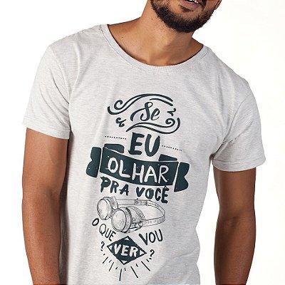 Camiseta Masc. Olhar - Jean Carllos
