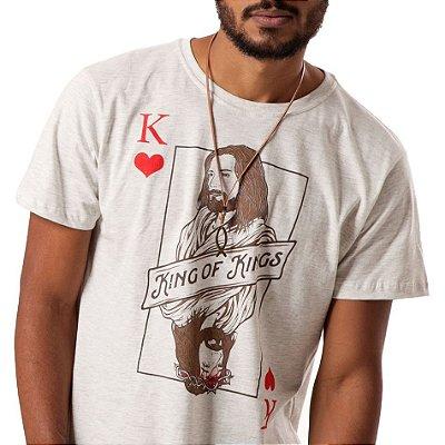 Camiseta masc Rei dos reis