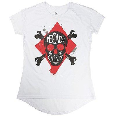 Camiseta fem Pecado Calado