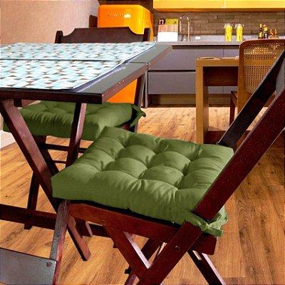 Assento Para Cadeira Futton Ox 40x40cm Green