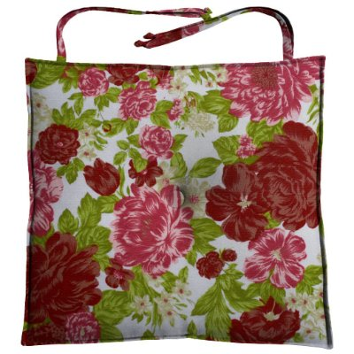 Almofada Para Assento de Cadeira 40x40cm Tropical Moond - Rosa