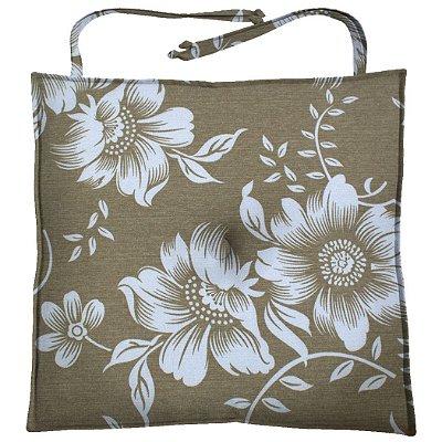 Almofada Para Cadeira 40x40cm Moond Gardenias