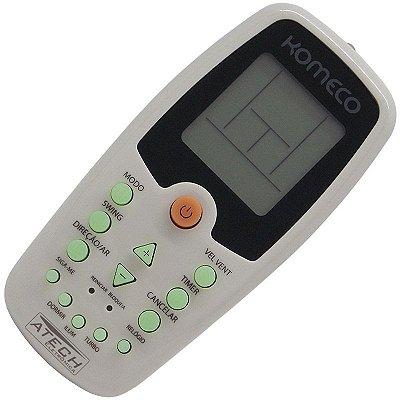 Controle Remoto Ar Condicionado Komeco ZH/KZ-01