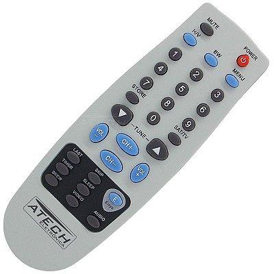Controle Remoto Receptor Vision Sat VSR2900 / VSR3000 / VSR4100 / VSR4200