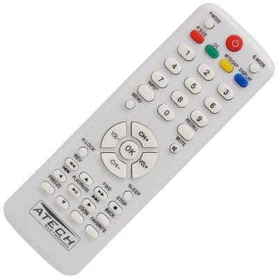 Controle Remoto TV LCD H-Buster HTR-D17 / HBTV-3203HD / HBTV-4203FD