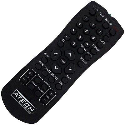Controle Remoto TV LCD / LED AOC D32W831 / D42H831 / D47H831 / D26W931 / D32W931 / D42H931 / LC32W053 / LC42H053 / LE32H057D / LE42H057D / LE46H057D