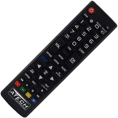 Controle Remoto TV LCD / LED LG AKB73975709