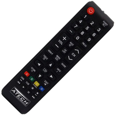 Controle Remoto TV LCD / LED Samsung BN98-04345A