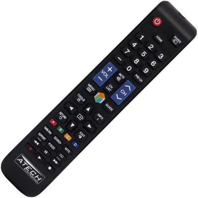 Controle Remoto TV LCD / LED Samsung Smart TV AA59-00588A