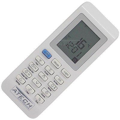 Controle Remoto Ar Condicionado Electrolux Ecoturbo BE18F / BE22F / BI18F / BI22F / TE18R / TE24R / TI18R / TI24F