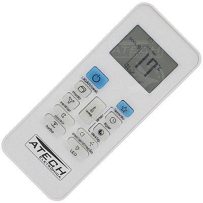 Controle Remoto Ar Condicionado Springer / Carrier RG52B/E