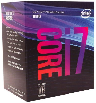 PROCESSADOR INTEL CORE i7 8700 3.2GHZ 12MB COFFEE LAKE LGA1151