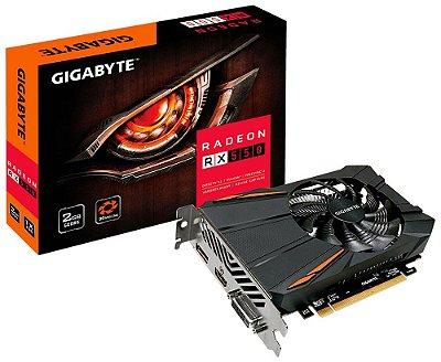 PLACA DE VÍDEO GIGABYTE AMD RADEON RX 550 2GB GDDR5 128BITS