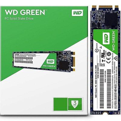 SSD WD GREEN 120GB M.2 2280 WDS120G2G0B