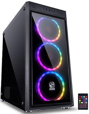 GABINETE PCYES JUPITER RGB JUPPT7C3FCV