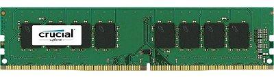 MEMÓRIA DESKTOP CRUCIAL 8GB 2400MHZ DDR4