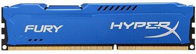 MEMÓRIA DESKTOP HYPERX FURY 8GB 1600MHZ DDR3