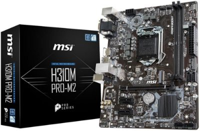 PLACA MÃE MSI H310M PRO-M2 DDR4 LGA1151