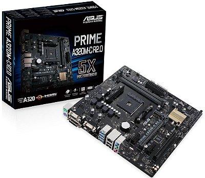PLACA MÃE ASUS PRIME A320M-C R2.0 DDR4 AM4