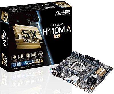 PLACA MÃE ASUS H110M-A/M.2 DDR4 LGA1151