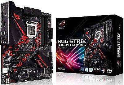 PLACA MÃE ASUS ROG STRIX B360-H GAMING DDR4 LGA1151