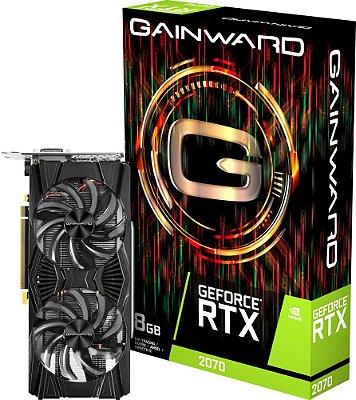 PLACA DE VÍDEO GAINWARD GEFORCE RTX 2070 8GB GDDR6 256BITS