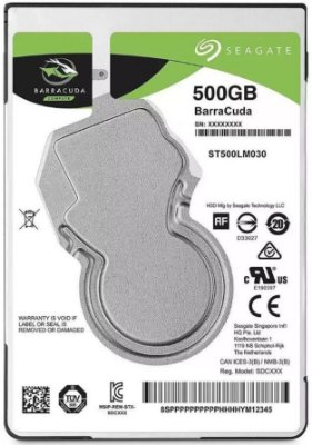 HD NOTEBOOK SEAGATE BARRACUDA 500GB 5400RPM ST500LM030
