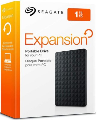 HD EXTERNO SEAGATE 1TB EXPANSION USB 3.0 STEA1000400