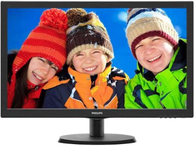 "MONITOR PHILIPS 21.5"" LED FULL HD HDMI/VGA 223V5LHSB2"