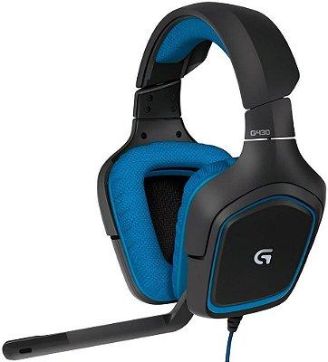 HEADSET LOGITECH G430 7.1 GAMER 981-000551
