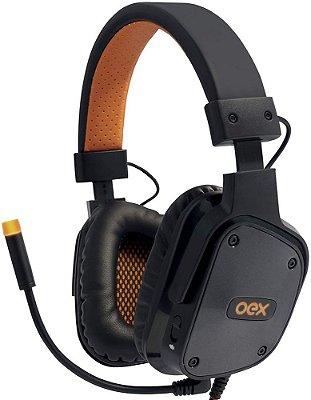 HEADSET OEX SHIELD 7.1 BLACK GAMER HS409