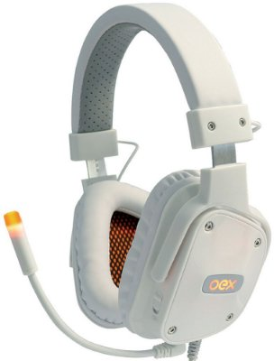 HEADSET OEX SHIELD 7.1 WHITE GAMER HS409