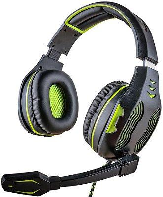 HEADSET MYMAX CENTAURO 5.1 GREEN GAMER MHP-SP-X13/BKGR