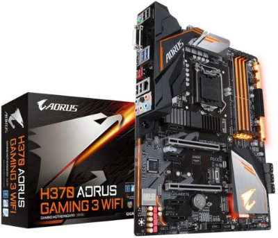 PLACA MÃE INTEL GIGABYTE H370 AORUS GAMING 3 WIFI DDR4 LGA1151