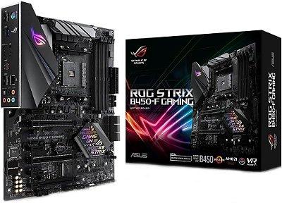 PLACA MÃE ASUS ROG STRIX B450-F GAMING DDR4 AM4