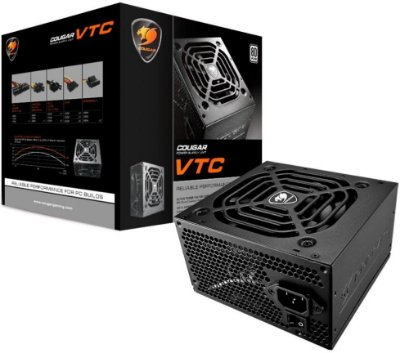 FONTE COUGAR VTC500 500W 80PLUS WHITE 31VC050006P01
