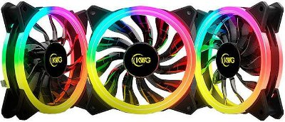 KIT 3 FAN KWG GEMINI 120MM RGB M1-1203R