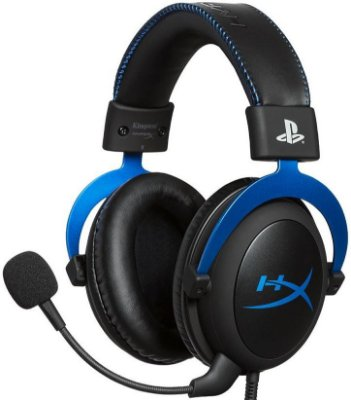 HEADSET HYPERX CLOUD BLUE PS4 GAMER HX-HSCLS-BL/AM