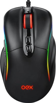 MOUSE GAMER OEX TITAN MS318 14400DPI